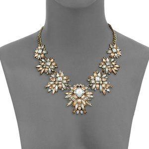 Nebular Diamond like Crystal Collar Necklace